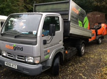 image of the Arbor Grind truck